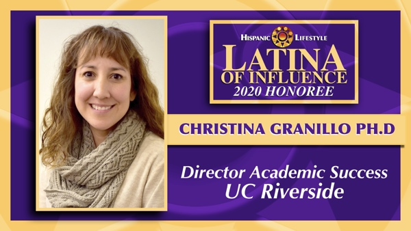 2020 Latina of Influence | Christina Granillo Ph.D