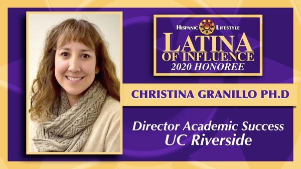 2020 Latina of Influence | Christina Granillo Ph.D