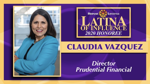 2020 Latina of Influence | Claudia Vazquez AOM, LSSBB