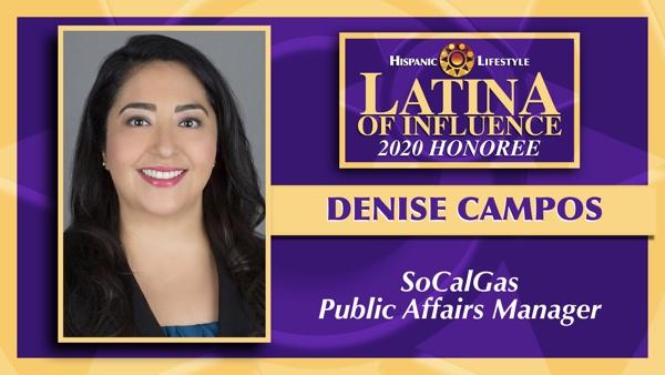 2020 Latina of Influence | Denise Campos