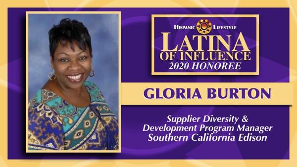 2020 Latina of Influence | Gloria Burton