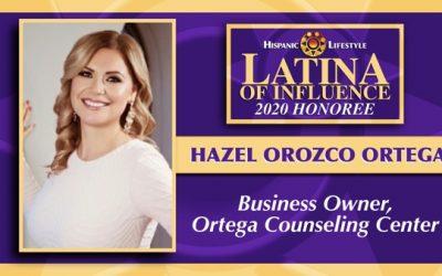 2020 Latina of Influence   Hazel Ortega