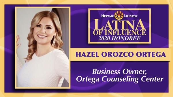2020 Latina of Influence | Hazel Ortega