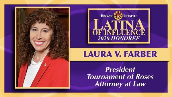 2020 Latina of Influence | Laura V. Farber