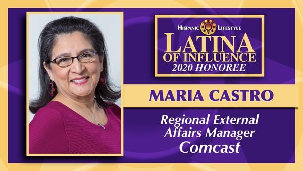 2020 Latina of Influence | Maria Castro