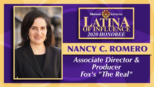 2020 Latina of Influence | Nancy C. Romero