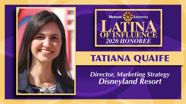 2020 Latina of Influence | Tatiana Quaife