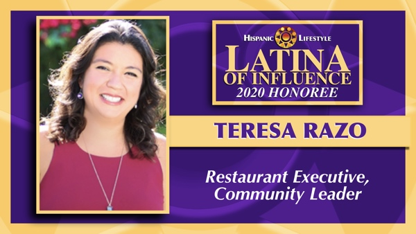 2020 Latina of Influence  | Teresa Razo