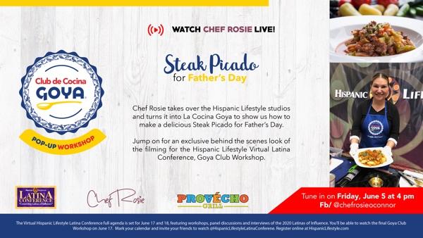 GOYA FOOD LIVE EVENT @ Hispanic Lifestyle Studios