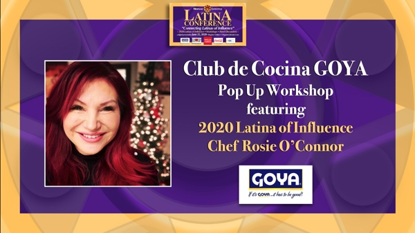 Latina Conference 2020 | Club de Cocina presents Goya Club Pop Up Workshop