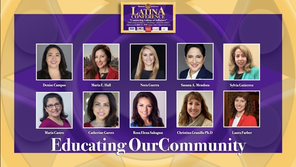 Latina Conference 2020 | Session 6 – Latinas Educating our Community