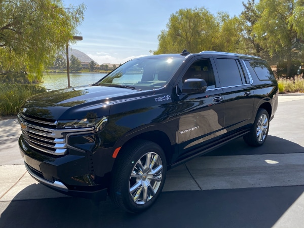 Driving with Style | 2021 Chevy Suburban
