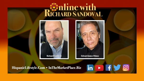 Episode 14 | Online With Richard Sandoval – Part II Edward James Olmos