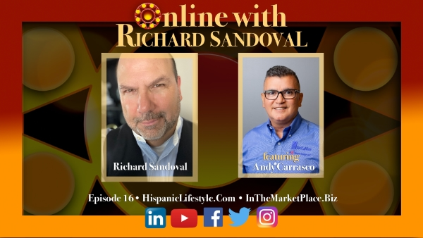 Episode 16 | Online with Richard Sandoval – Andy Carrasco SoCal Gas Company