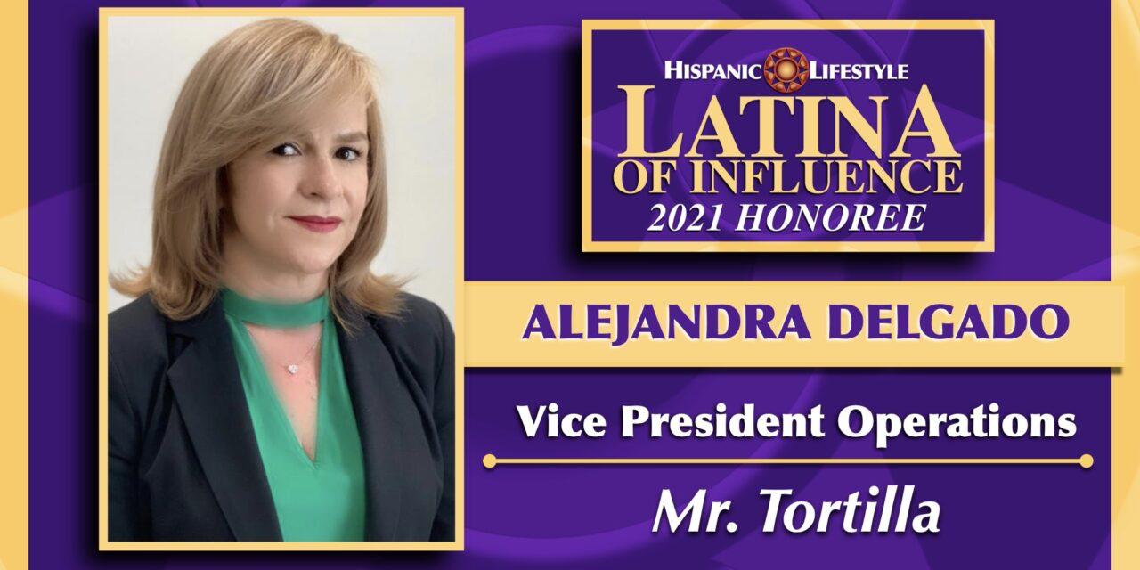 2021 LATINA OF INFLUENCE | Alejandra Delgado