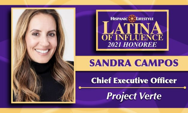 2021 Latina of Influence | Sandra Campos