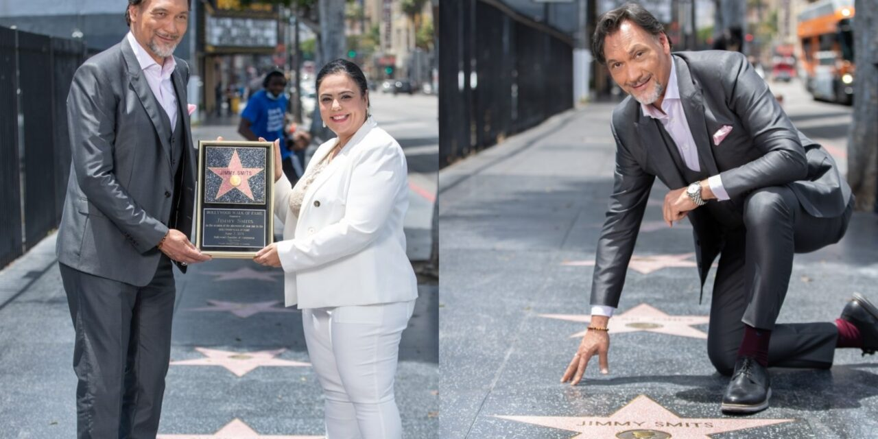 Jimmy Smits Receives Star on Hollywood's Walk of Fame