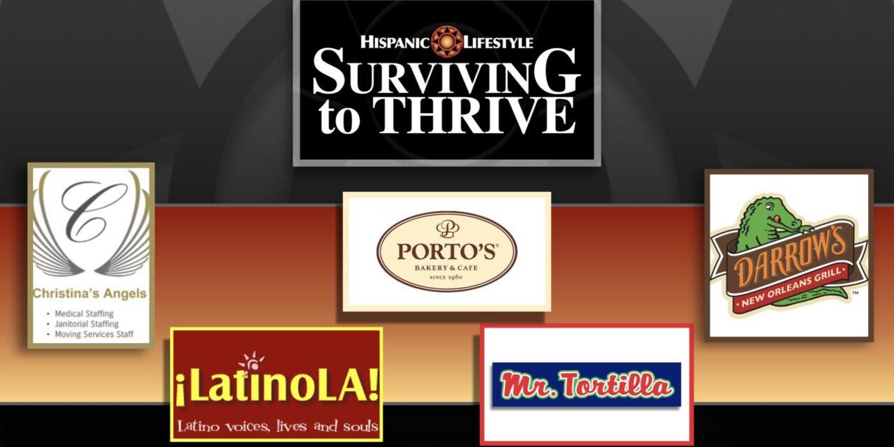 Hispanic Lifestyle's 2021 Surviving to Thrive Listing